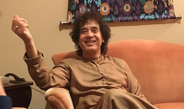 U-zhaanが聞く!Zakir Hussainインタビュー