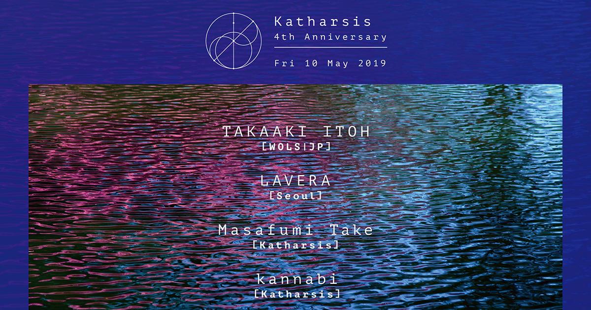 TAKAAKI ITOH [WOLS / JP] / LAVERA [Seoul] / kannabi [Katharsis] / Masafumi Take [Katharsis] / Arisa Shirota