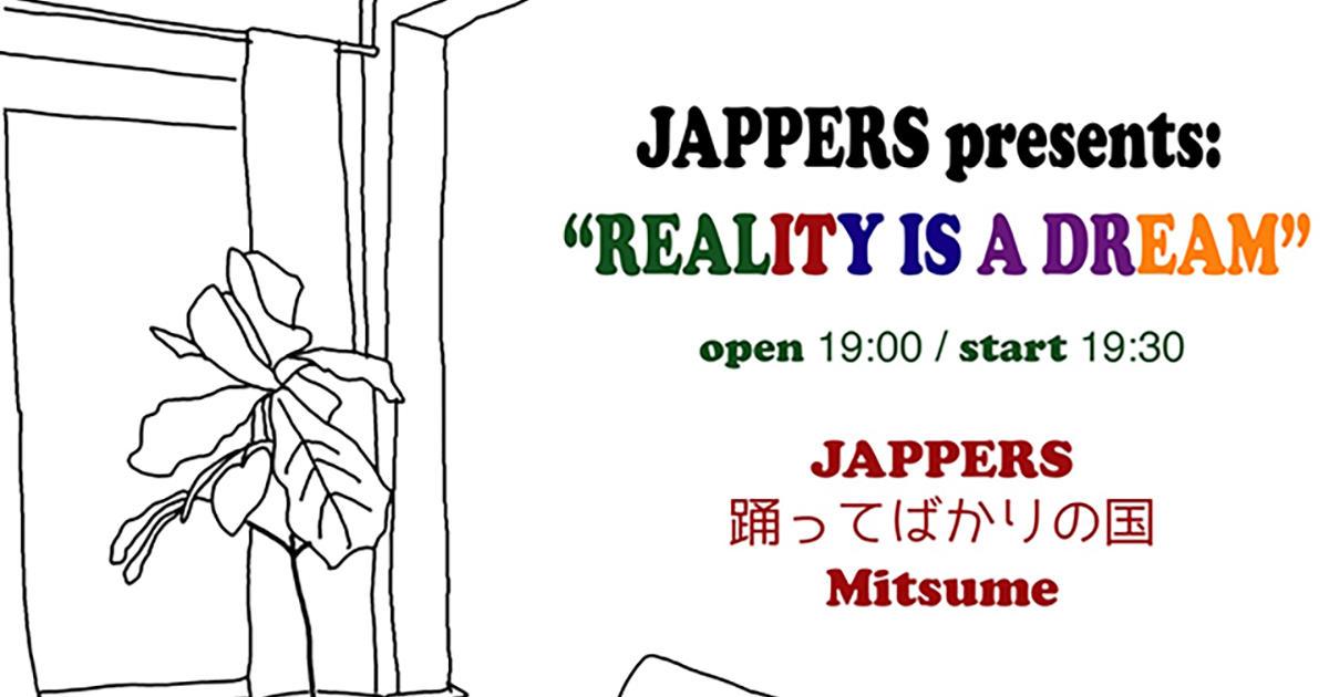 JAPPERS / 踊ってばかりの国 / ミツメ