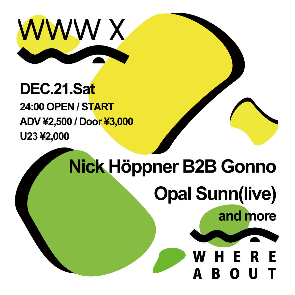 Nick Höppner / Gonno / Opal Sunn / and more