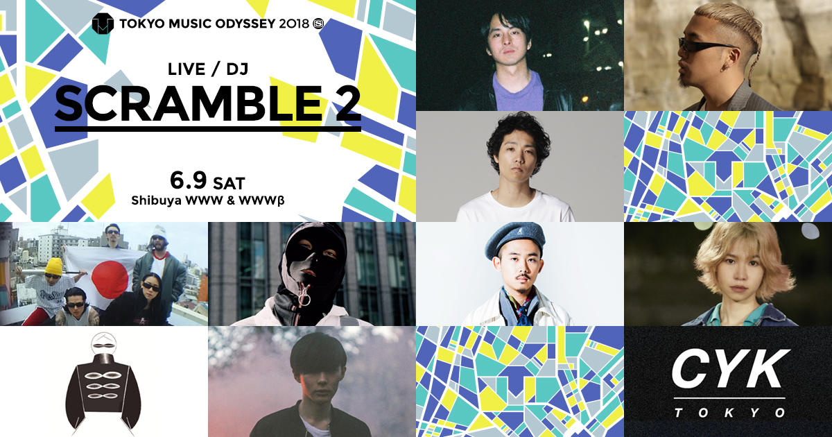 KENTO YAMADA AUDIO VISUAL CRASH/ kZm(YENTOWN) / Ryohu from KANDYTOWN (Band Set)  / THE THROTTLE / Qiezi Mabo / OKAMOTO REIJI / LISACHRIS / 食品まつり a.k.a foodman / SEKITOVA / CYK