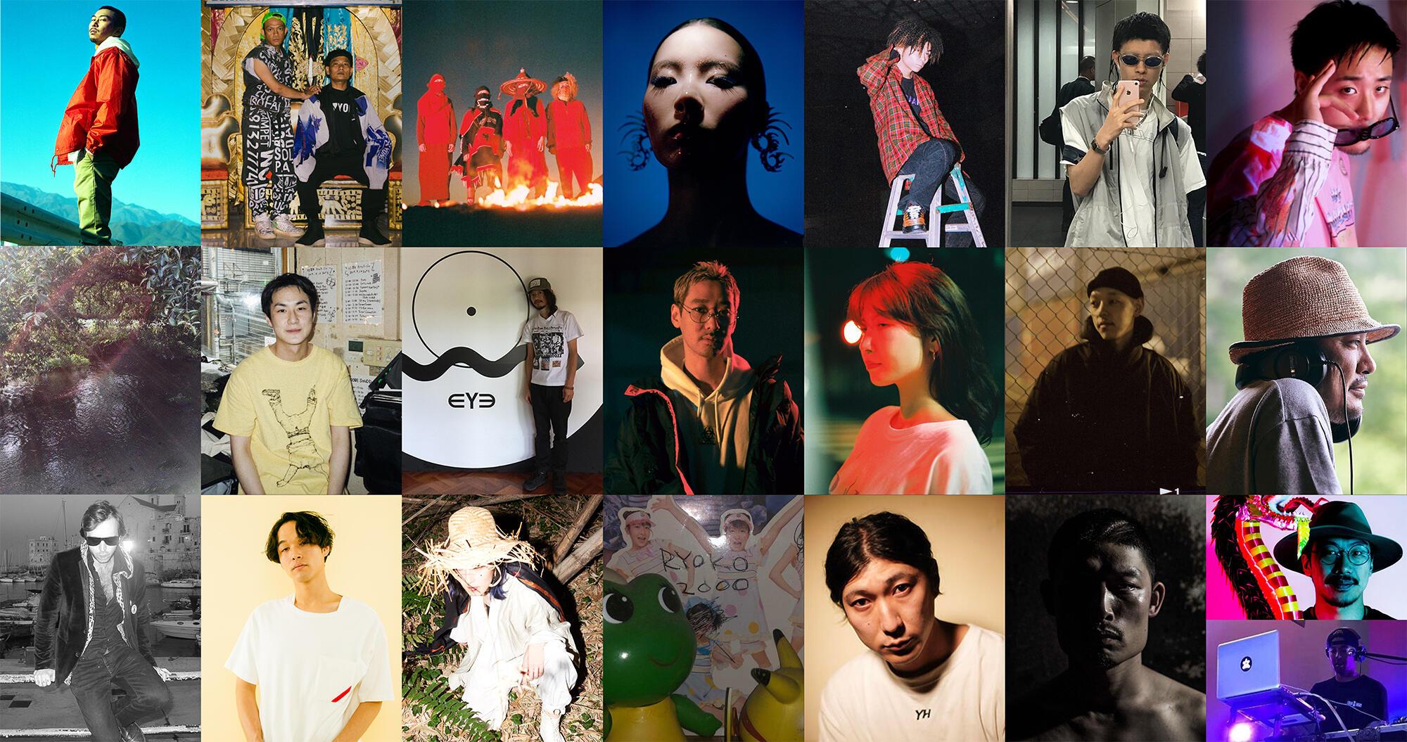 田我流 / Gabber Modus Operandi / GEZAN / Lim Kim / SANTAWORLDVIEW / Tohji / VaVa  / 悪魔の沼 / Aspara / ∈Y∋ / KM / Mari Sakurai / Mars89 / MOODMAN / Mr. Ties / okadada / suimin / リョウコ2000 / Yoshinori Hayashi / ¥ØU$UK€ ¥UK1MAT$U / YOUNG-G、MMM