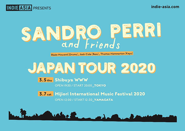 【公演中止】Sandro Perri and Friends