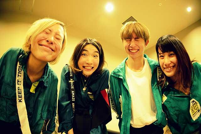 tricot / きのこ帝国 / and more