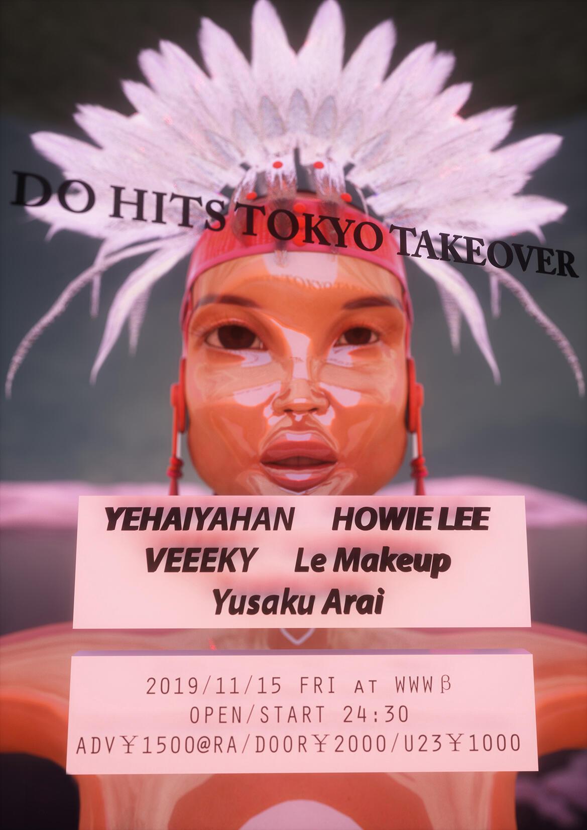 Howie Lee [Beijing] / YEHAIYAHAN [Shanghai] / Veeeky [SCV / Taipei] / Le Makeup [Pure Voyage] / Yusaku Arai