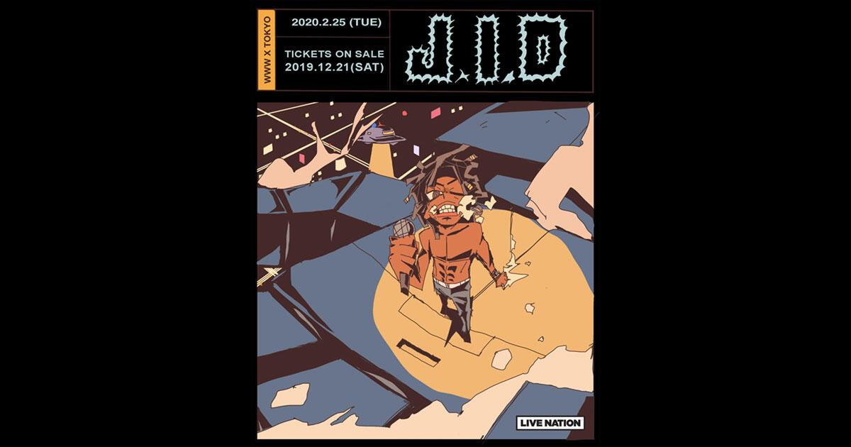 【公演延期】J.I.D