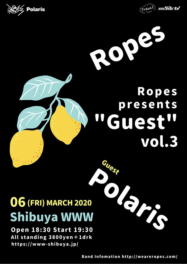 【公演延期】Ropes / Polaris
