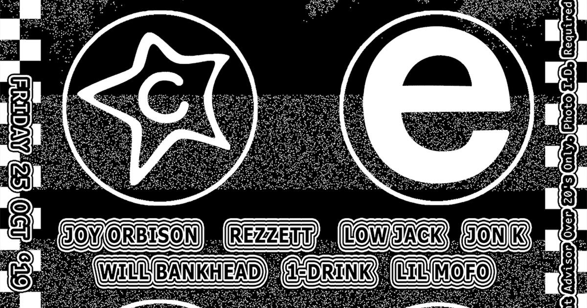 Joy Orbison / Rezzett / Low Jack / Jon K / Will Bankhead / 1-Drink / Lil Mofo