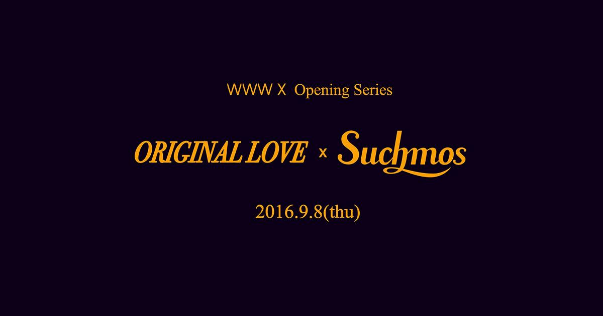ORIGINAL LOVE / Suchmos