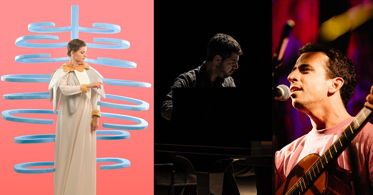 KLO PELGAG(Quebec, Canada) / ANDRÉ MEHMARI - JUAN QUINTERO(Brazil - Argentina) / DJ:中原 仁