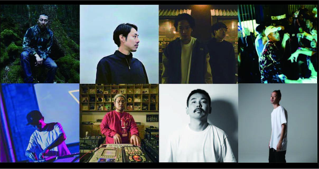 LIVE: 田我流 / 環ROY / 唾奇×Sweeet William / Weny Dacillo / BEAT LIVE: tajima hal / MAHBIE / doooo / DJ:KM