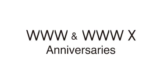 WWW & WWW X Anniversaries 2018 LINE UP